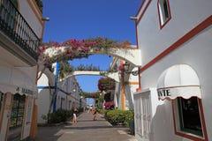Puerto Mogan Royalty Free Stock Image