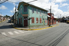 Puerto Montt - Chile. Wooden House in Puerto Montt - Chile Stock Images