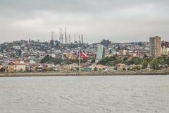 Puerto Montt Panoramic Stock Photo