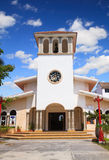 Puerto Morelos Church Stock Photos