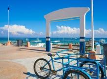Puerto Morelos pier in Riviera Maya Stock Photo