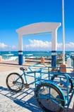 Puerto Morelos pier in Riviera Maya Royalty Free Stock Photos