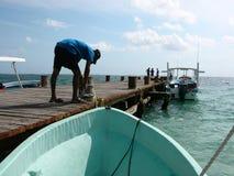Puerto Morelos, Quintana Roo, Mexique, 02 Image stock