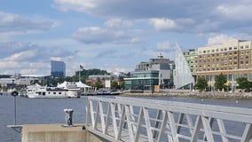 Puerto nacional en la colina de Oxon, Md Imagen de archivo libre de regalías