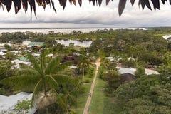 Puerto Nariño, Amazonas, Colombie photo stock