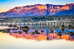 Puerto Natales, Chile, South America stock photography