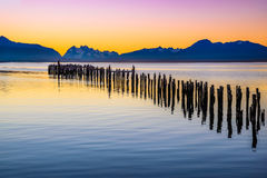 Puerto Natales, Chile, South America Royalty Free Stock Photo