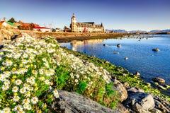 Puerto Natales, Chile, Sydamerika arkivbilder