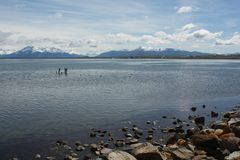 Puerto Natales, Chile Stock Image