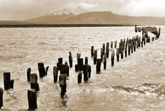 Puerto Natales Royalty Free Stock Photography
