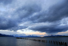 Puerto Natales Royalty Free Stock Images