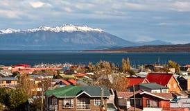 Puerto Natales, Patagonië, Chili Stock Fotografie