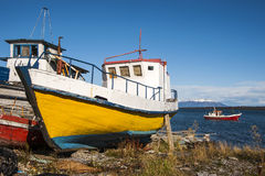 Puerto Natales, Patagonië, Chili Stock Afbeelding