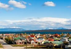 Puerto Natales, Patagonia, Chile Stock Photos