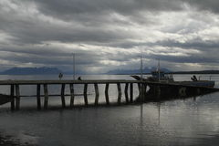 Puerto Natales Patagonia Chile Royalty Free Stock Images
