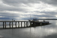 Puerto Natales Patagonia Chile royalty free stock photography
