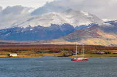 Puerto Natales, in Southern Chile Royalty Free Stock Photos