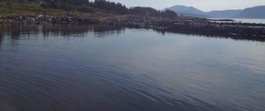 Puerto noruego del barco fotos de archivo libres de regalías
