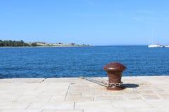 Puerto Novalja Pag Croacia Fotografía de archivo