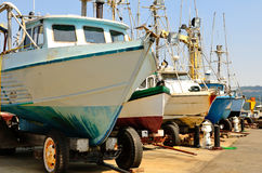 Puerto Orford Foto de archivo libre de regalías