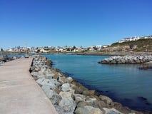 Puerto pacífico Foto de archivo