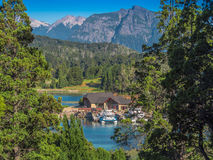 Puerto Panuelo Bariloche Royalty Free Stock Photography