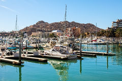 Puerto Paraiso Shopping Mall and Marina Royalty Free Stock Images