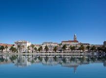 Puerto partido, Croatia imagen de archivo