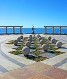 Puerto Penasco, Kunst Mexikos - Ufergegend Lizenzfreies Stockfoto