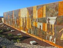 Puerto Penasco, Mexico - strand konst Arkivbild