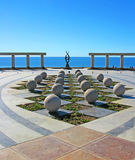 Puerto Penasco, Mexico  - Waterfront Art Royalty Free Stock Photo