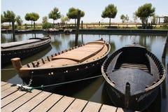 Puerto pesquero Imagen de archivo libre de regalías