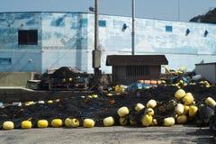 Puerto pesquero de Manazuru Foto de archivo libre de regalías