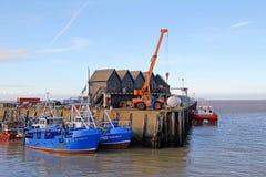 Puerto pesquero de Whitstable foto de archivo libre de regalías