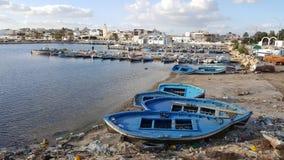 puerto pesquero del sallakta Imagen de archivo libre de regalías