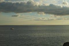 Puerto pesquero Manazuru Foto de archivo libre de regalías
