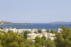 puerto pollensa της Μαγιόρκα κόλπων Στοκ φωτογραφίες με δικαίωμα ελεύθερης χρήσης