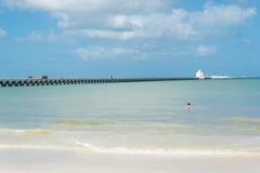 Puerto Progreso, Юкатан Стоковые Фотографии RF