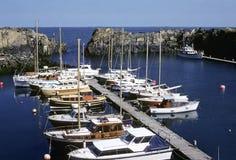 Puerto protegido Fotos de archivo libres de regalías