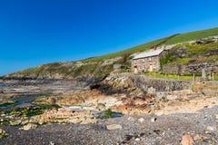 Puerto Quin Cornwall England fotos de archivo libres de regalías