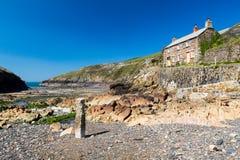 Puerto Quin Cornwall England foto de archivo libre de regalías