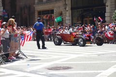 2014 Puerto Ricaanse Dagparade Royalty-vrije Stock Foto