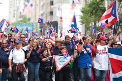 Puerto Rican Day Parade stock photos