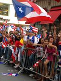 Puerto rican day parade Stock Photography