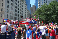 2014 Puerto Rican Day Parade Stock Photo