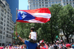 2014 Puerto Rican Day Parade Stock Images