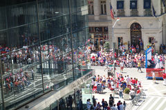 2014 Puerto Rican Day Parade Royalty Free Stock Photography