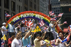 Puerto Rican Day Parade; NYC 2012 Royalty Free Stock Photos