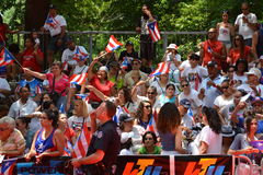Puerto Rican Day Parade 2015. SEUI 1199 Healthcare Public Relations For Sponsorship Royalty Free Stock Photo