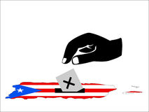 Puerto Rican election Royalty Free Stock Image